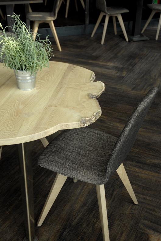 Ronde tafel Acacia